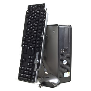 Pc occasion Dell Optiplex 745 SFF + Clavier + Souris