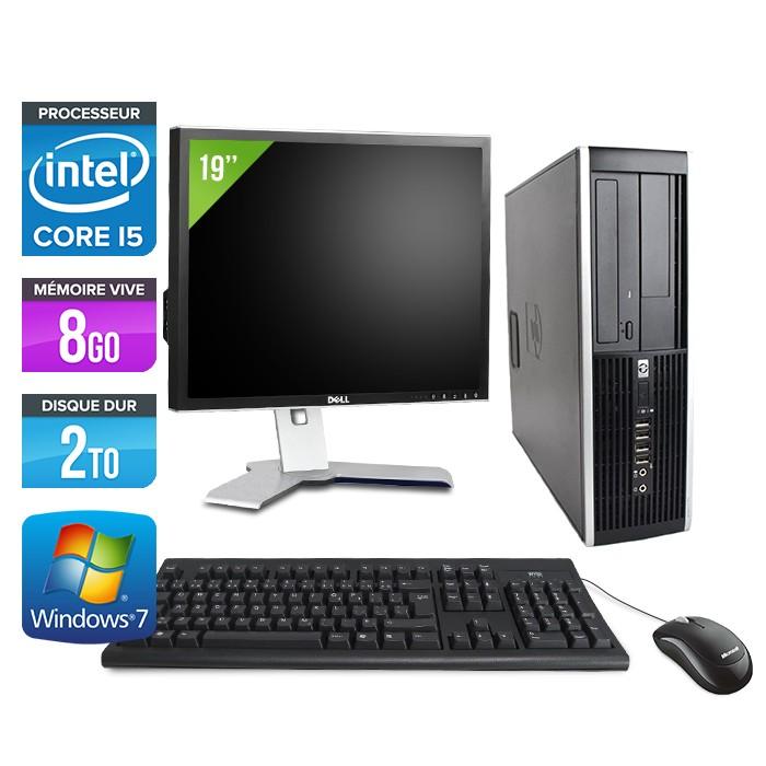 Pc occasion hp elite 8200 ecran 19 core i5 8go 2 to hdd trade discount - Ordinateur de bureau pas cher et performant ...