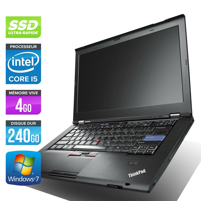 lenovo thinkpad t420s ordinateur portable ssd l ger trade discount. Black Bedroom Furniture Sets. Home Design Ideas