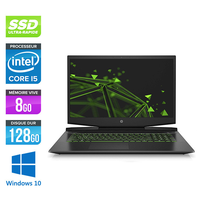 HP Pavilion Gaming 15-dk0006nf - 8Go - 128Go SSD - 1To HDD