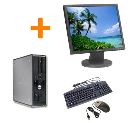 PC COMPLET DELL OPTIPLEX GX620 + ECRAN TFT 17""