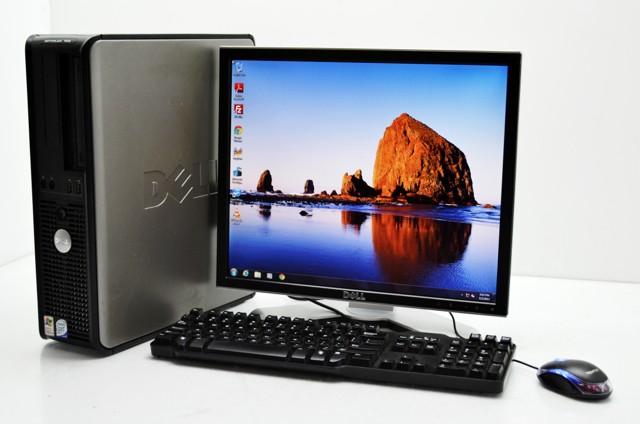 "Dell Optiplex 755 Windows 7 + Ecran TFT 19"" + Clavier + Souris"