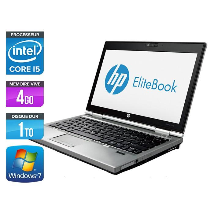 HP EliteBook 2570P - Core i5 - 4Go - 1To