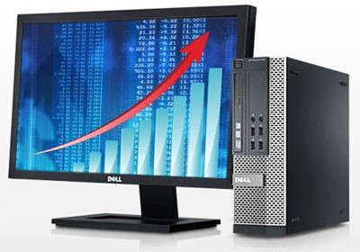 Dell Optiplex 790 SFF + Ecran 20 pouces DELL - Windows 7
