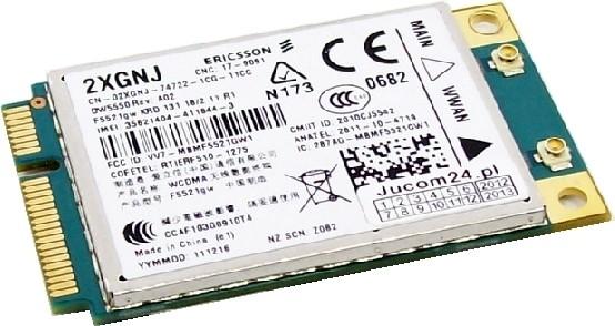 Carte 3G DW5550 - Dell 2XGNJ - WWAN