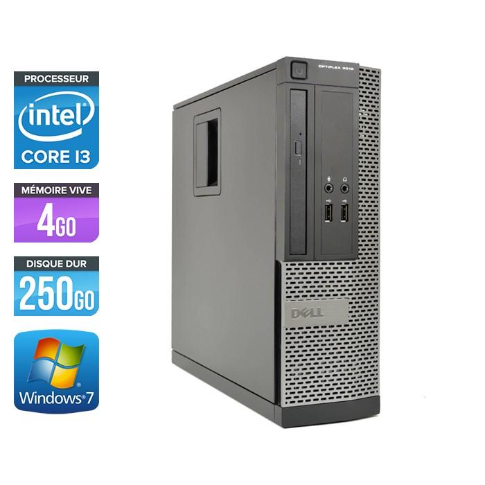 Dell Optiplex 3010 SFF - Core i3 - 4Go - 250Go