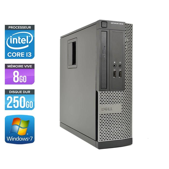 Dell Optiplex 3010 SFF - Core i3 - 8Go - 250Go