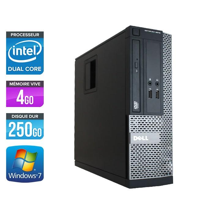 Dell Optiplex 3020 SFF - Pentium G3240 - 4Go - 250Go