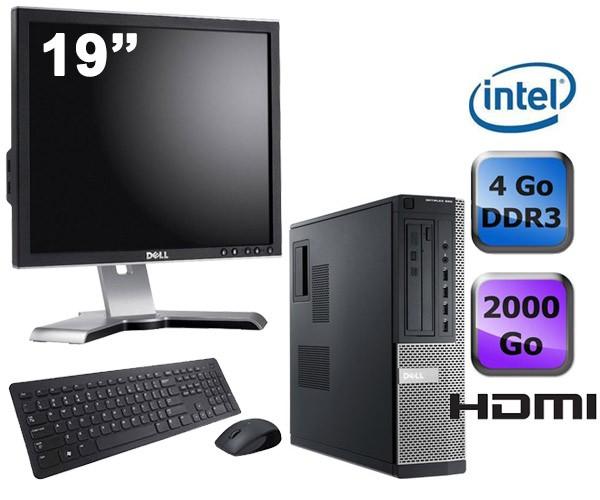 """Dell Optiplex 390 Desktop + Ecran 19"""""""