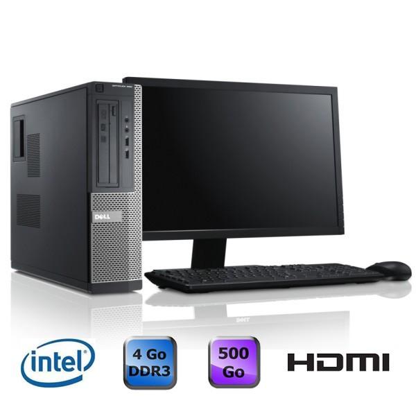 """Dell Optiplex 390 Desktop + Ecran 20"""""""