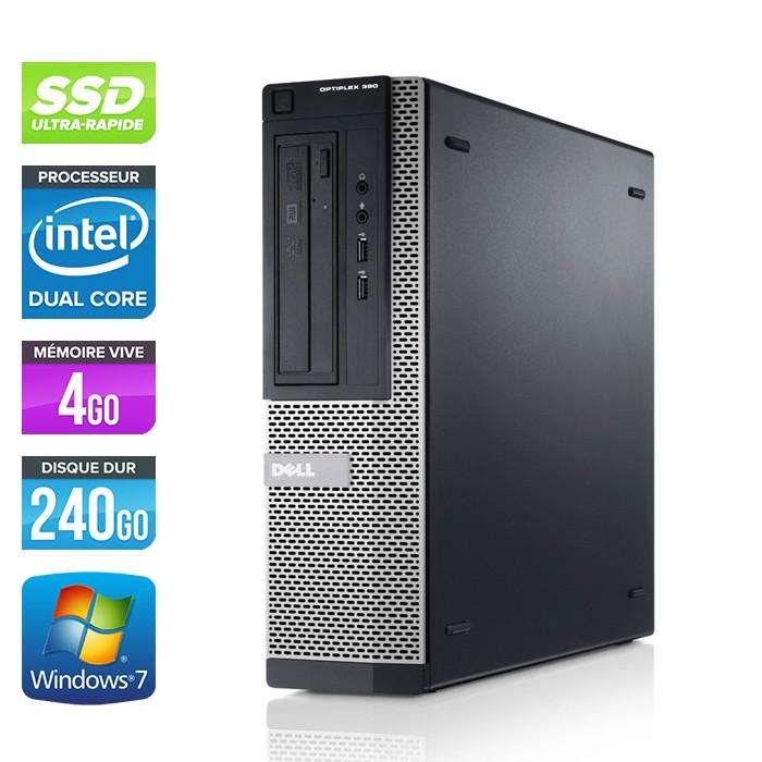 Dell Optiplex 390 - G630 - 4Go - 240Go SSD