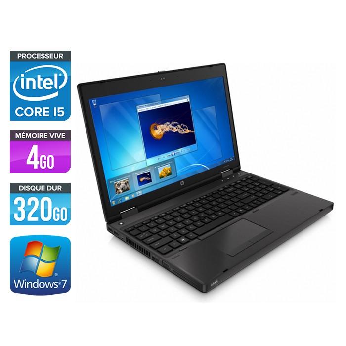 HP ProBook 6460B - Core i5 - 4Go - 320Go