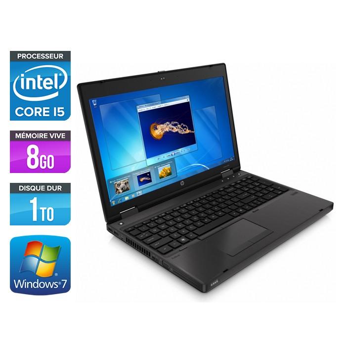 HP ProBook 6460B - Core i5 - 8Go - 1To