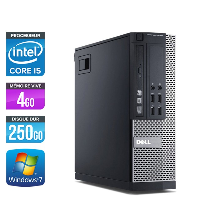 Dell Optiplex 7010 SFF - Core i5 - 4Go - 250Go