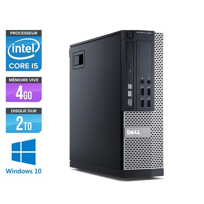 Dell Optiplex 7010 SFF - Core i5 - 4Go - 2To - Windows 10
