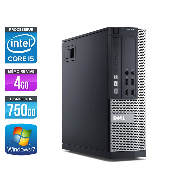 Dell Optiplex 7010 SFF - Core i5 - 4Go - 750Go