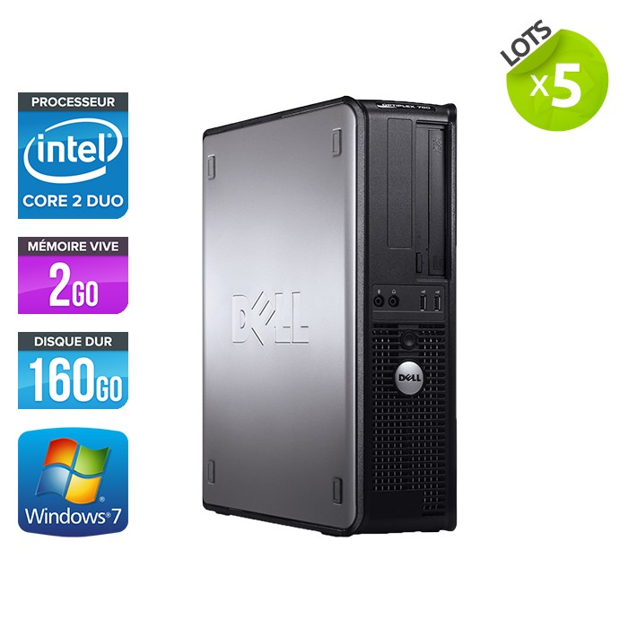 Lot de 5 Dell Optiplex 755 Desktop