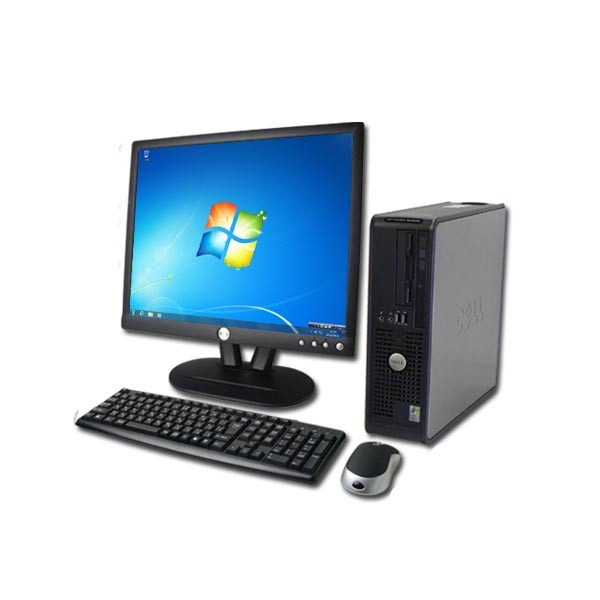 DELL OPTIPLEX GX755 SFF  WINDOWS 7 + Ecran TFT 19""
