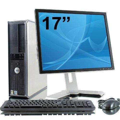 Dell Optiplex 760 Desktop + Ecran 17