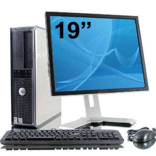 Dell Optiplex 760 Desktop + Ecran 19