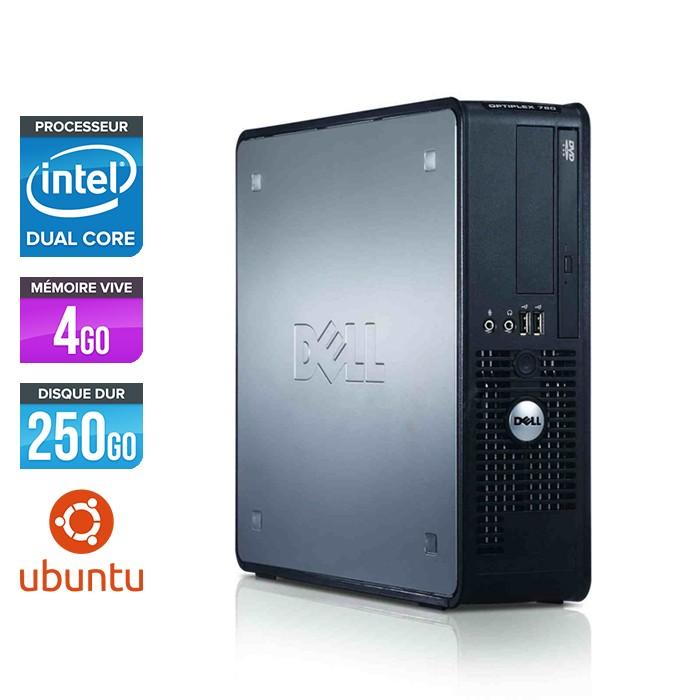 Dell Optiplex 760 SFF - E2200 - 4Go - 250Go - Linux