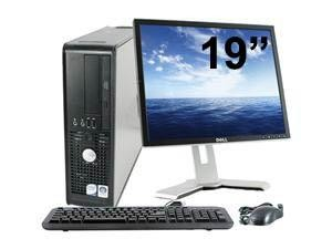 Dell Optiplex 780 SFF - Windows 7 + Ecran TFT 19""