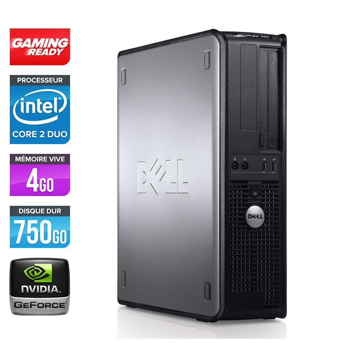 Dell Optiplex 780 Desktop - Pc gamer reconditionné