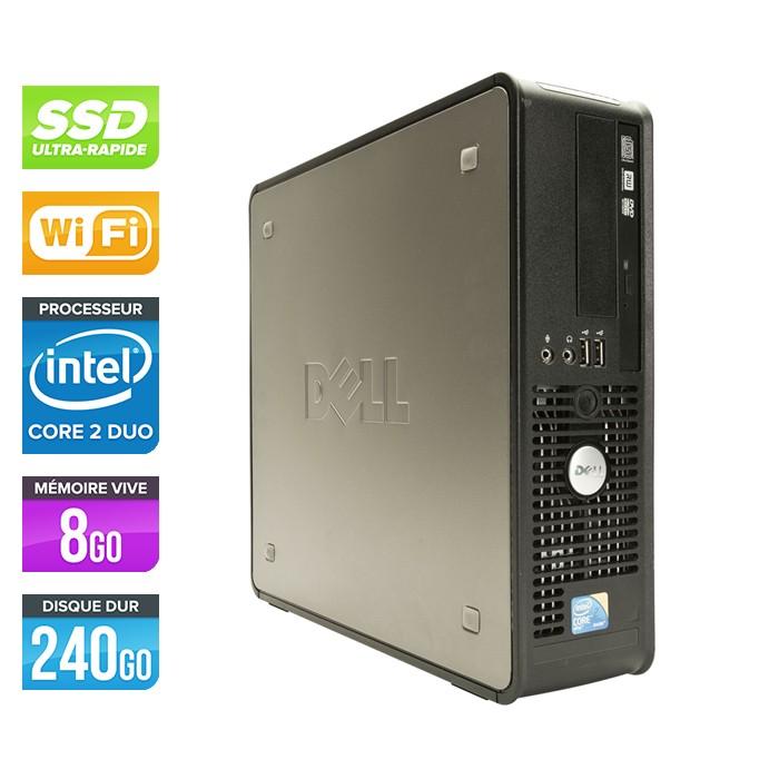 Dell Optiplex 780 SFF - E7500 - 8Go - 240Go SSD - WIFI - Windows 10