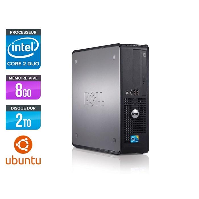 Dell Optiplex 780 SFF - E5300 - 8Go - 2To - Linux