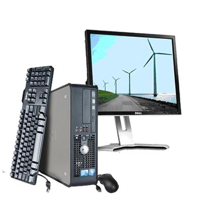 Dell Optiplex 780 - Windows 7 + Ecran TFT 17""