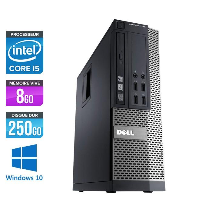 Dell Optiplex 790 SFF - Core i5 - 8Go - 250Go - Windows 10