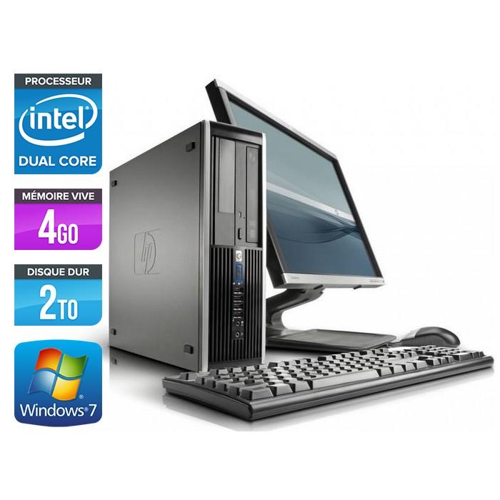 "HP Elite 8100 SFF + Ecran 22"""