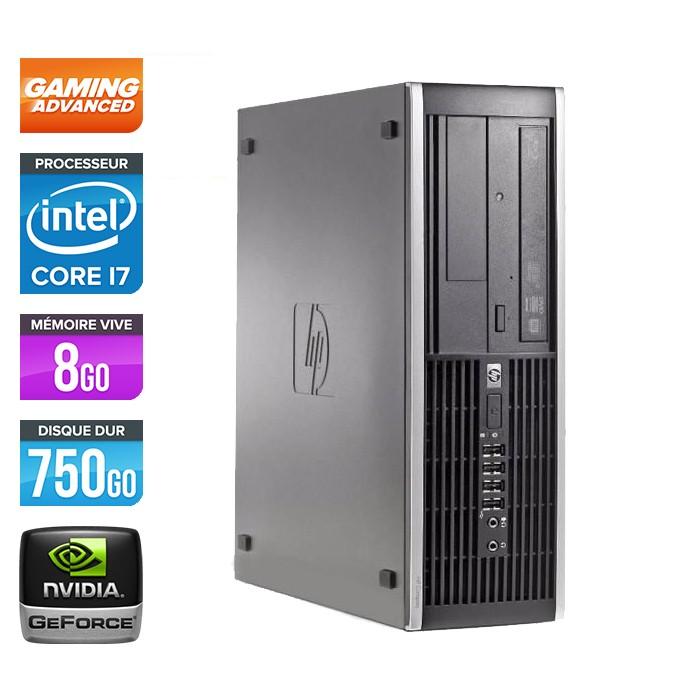 HP Elite 8200 SFF - Core i7 - 8Go - 750Go - Nvidia GTX 750 Ti