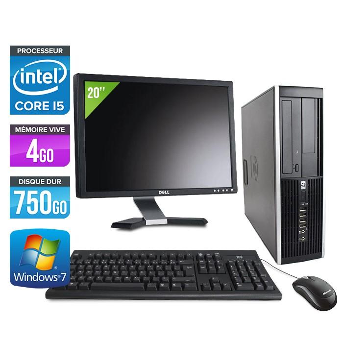"HP Elite 8300 SFF - Core i5 - 4Go - 750Go + Ecran 20"""