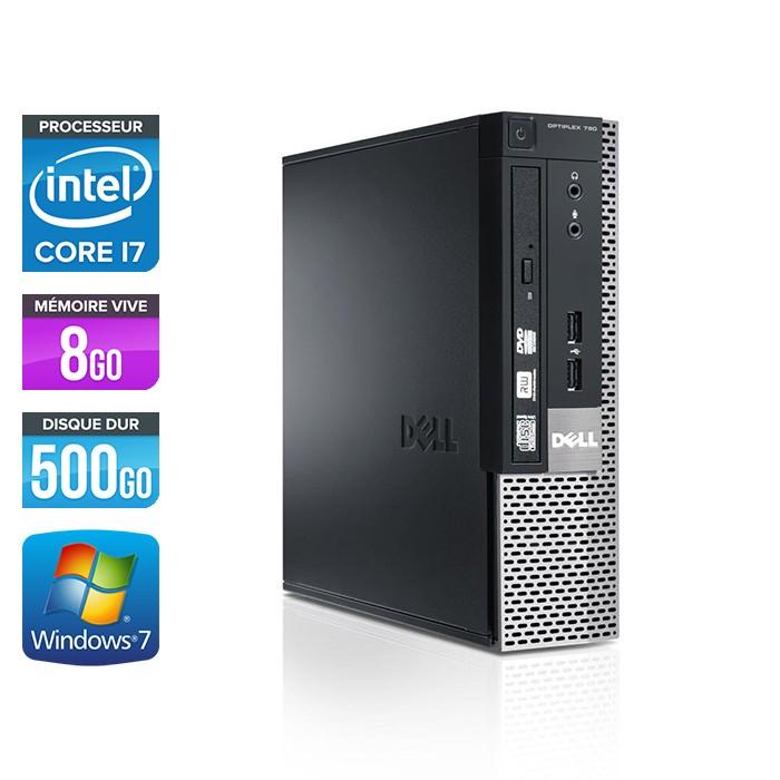 Dell Optiplex 9010 USFF - Core i7 - 8Go - 500Go