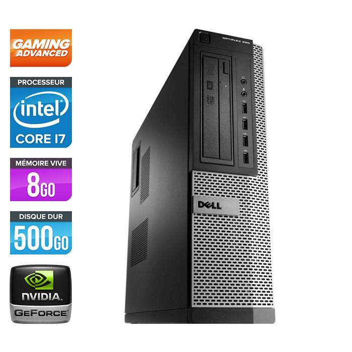 Dell Optiplex 990 Desktop - Core i7 - 8Go - 500Go - Nvidia GTX 750 Ti