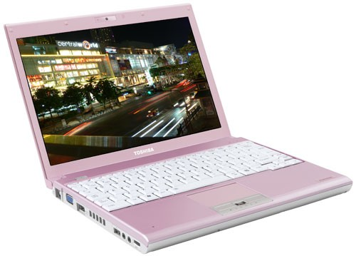 PC PORTABLE TOSHIBA PORTEGE A600 PINK EDITION
