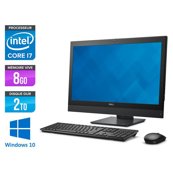 PC Tout-en-un Dell Optiplex 7440 AiO - i7 - 8Go - 2To HDD- Windows 10