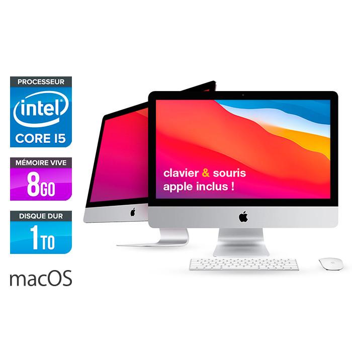 Apple iMac 21.5 - i5 - 8Go - 1To HDD - macOS