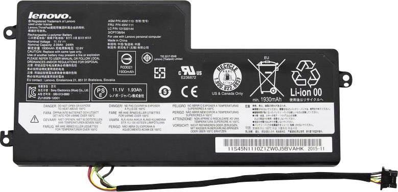 Batterie générique Lenovo - 6 cellules - X240 - X250 - T440 - T460 - T460P - T470P - T550