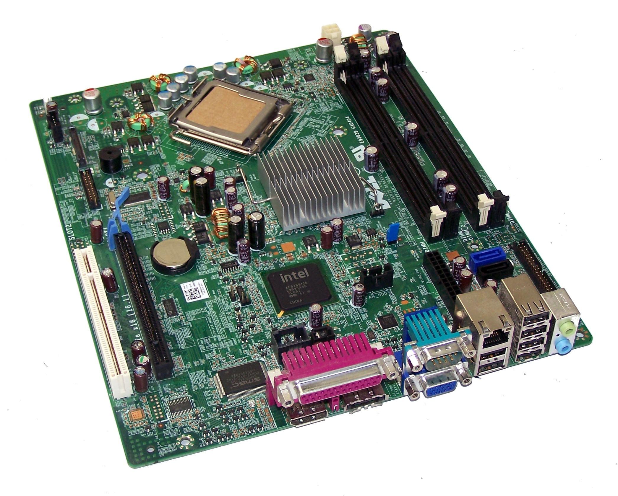 Carte Mère MotherBoard DELL Optiplex 760 SFF - DDR2 - Socket LGA 775 - 0M863N