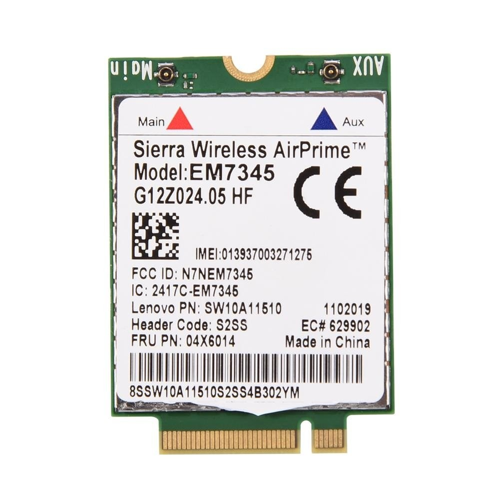 Carte Sierra Wireless AirPrime EM7345 - 4G LTE