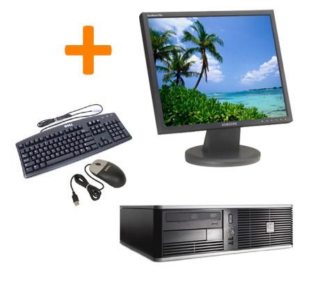 "PC BUREAU HP DC5750 + Ecran TFT 17"""