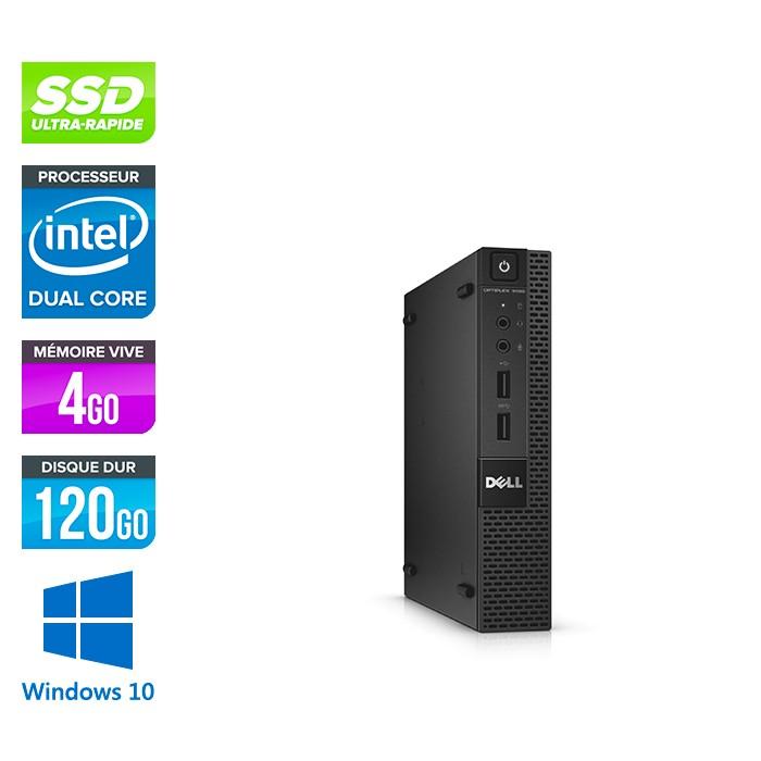 Dell 3020 Micro - G3250T - 4Go - 120Go SSD - W10