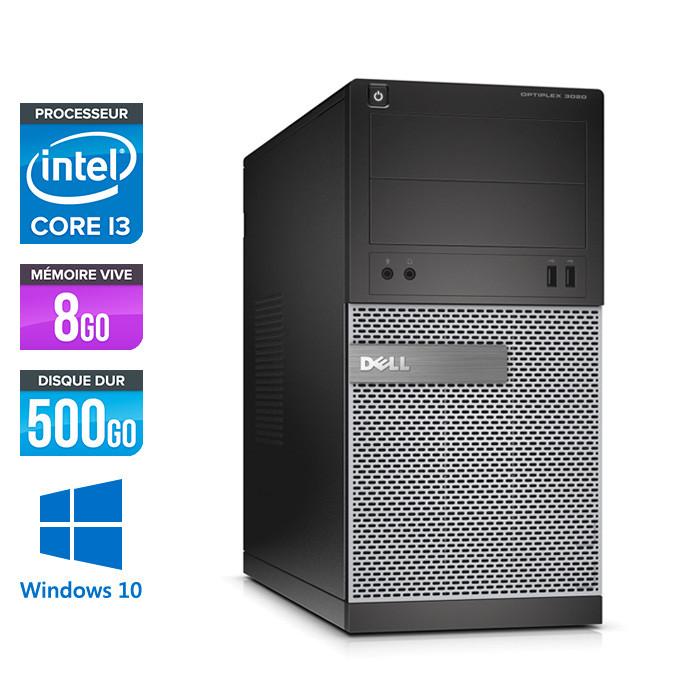 Dell Optiplex 3020 Tour - i3 4150 - 8Go - 500Go - Windows 10