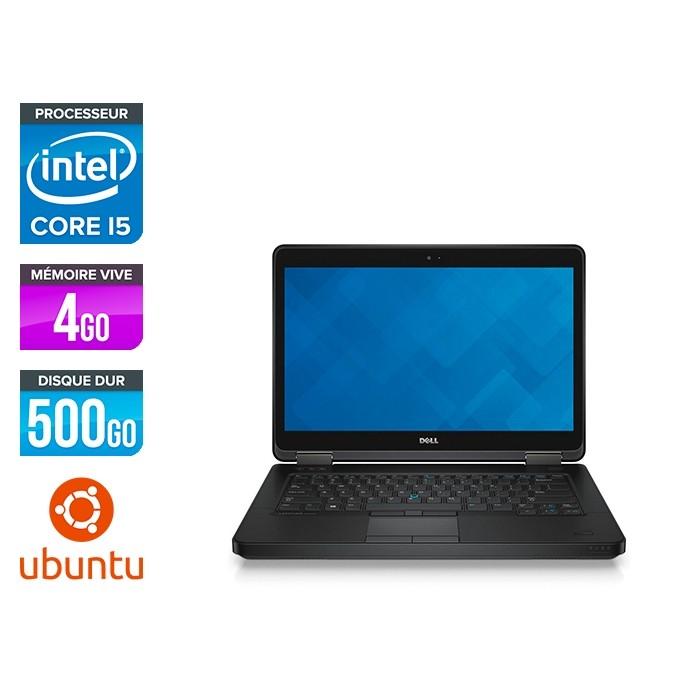 Dell Latitude E5440 - i5 - 4Go - 500Go HDD - Linux