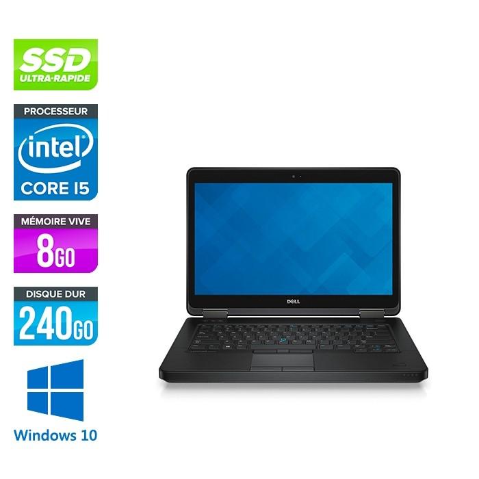Dell Latitude E5440 - i5 - 8Go - 240 Go SSD - Windows 10