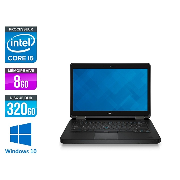 Dell Latitude E5440 - i5 - 8Go - 320Go HDD - Windows 10 Famille