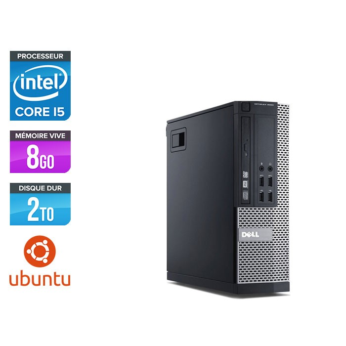Dell Optiplex 7010 SFF - i5 - 8Go - 2To - Linux