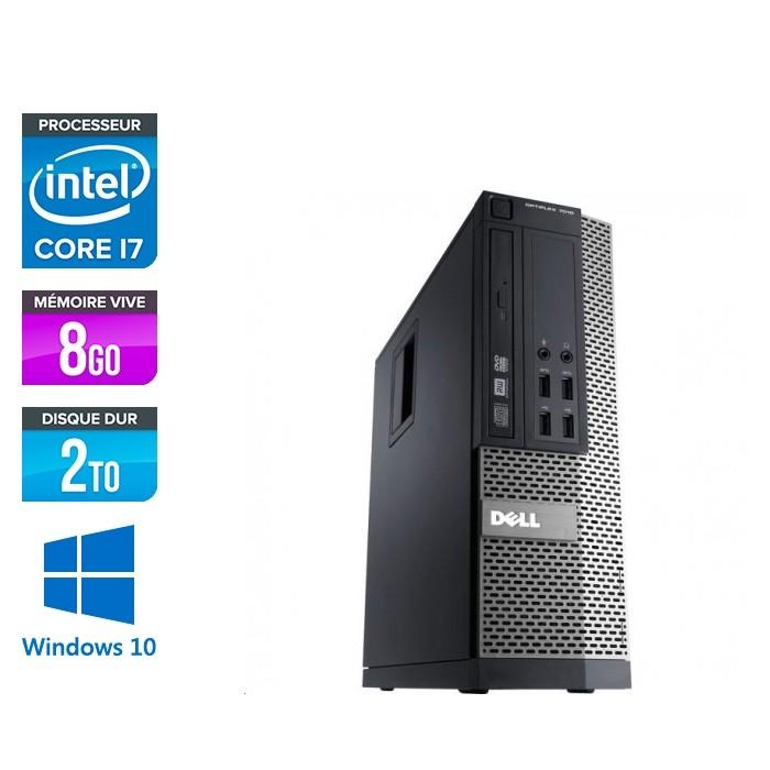 Dell Optiplex 7010 SFF - intel core i7 - 8Go - 2to HDD - Windows 10